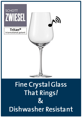 Schott Zwiesel TRITANr with that fine crystal ring